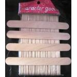 Шпатель для нанесения шугаринка (деревянный) - 1 шт