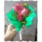 Букет из 3х мыльных роз (под заказ)