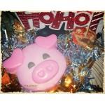 Мыльная новогодняя свинка 1