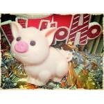 Мыльная новогодняя свинка 2